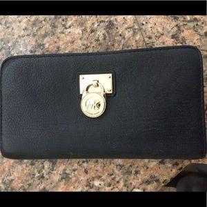 Michael Kors Hamilton Traveler Leather Wallet